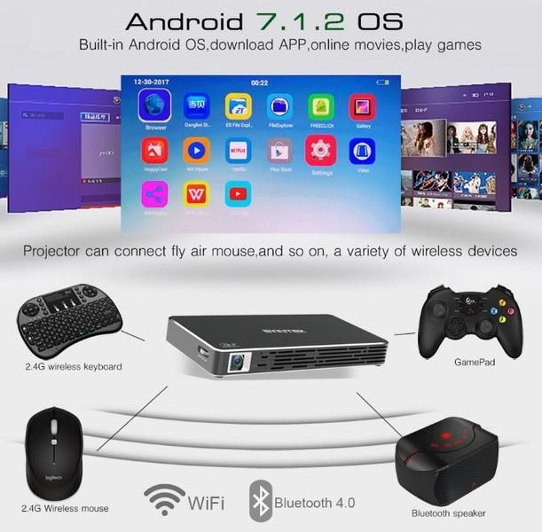 Android sistem, brezžična povezljivost