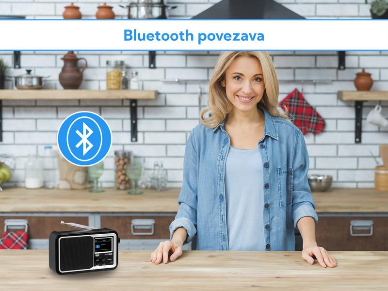 Radijski sprejemnik z Bluetooth povezavo