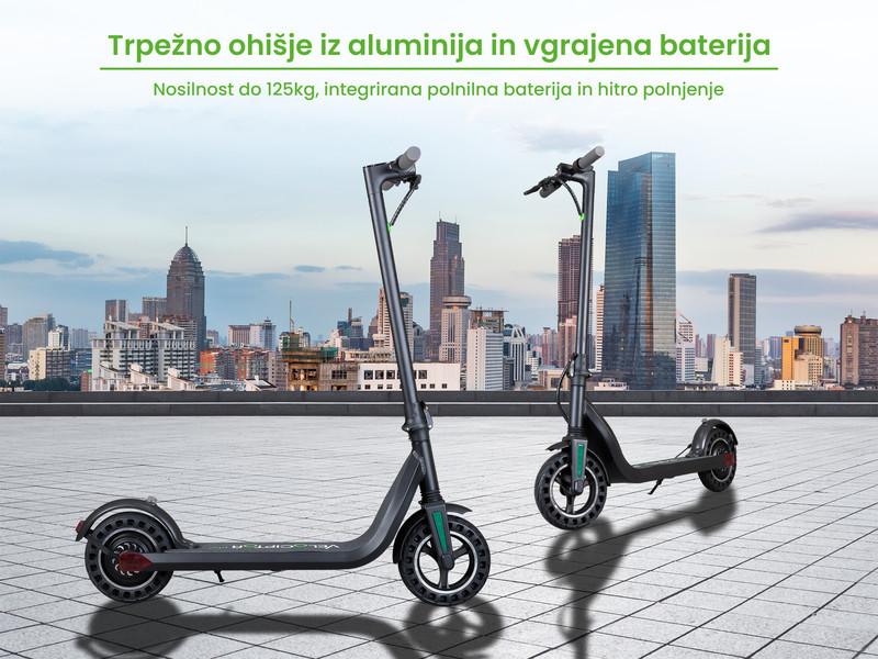 Lahko, zmogljivo in zanesljivo prevozno sredstvo