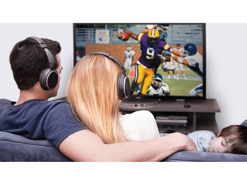 Odlična kakovost zvoka z brezžičnimi TV STEREO slušalkami