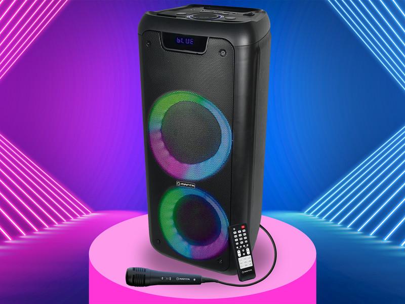 Karaoke zvočnik z veliko funkcijami