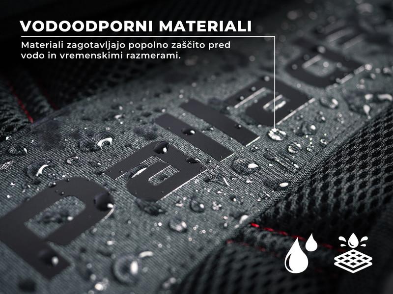 Trpežen dizajn in vodoodporen material