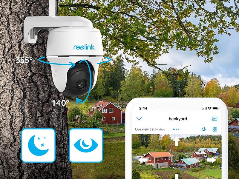 Full HD ločljivost in tehnologija Night Vision
