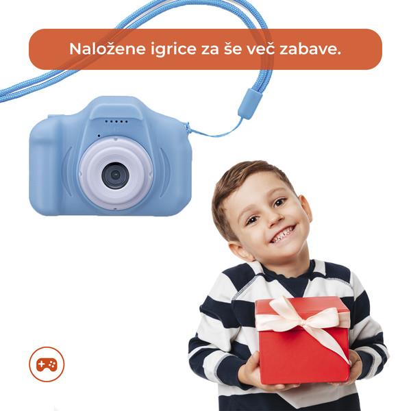 Kaj še odlikuje otroški fotoaparat FOREVER Kids Camera Smile SKC-100?