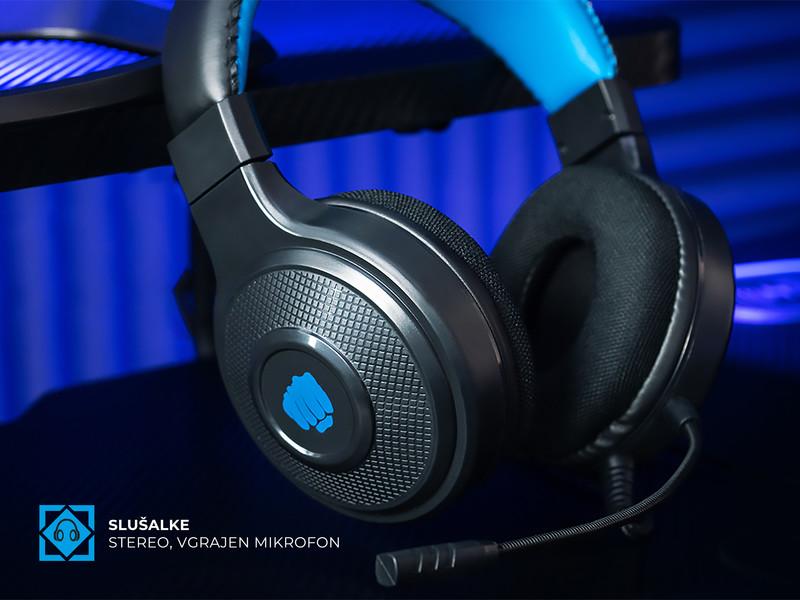 Kakovostne stereo slušalke