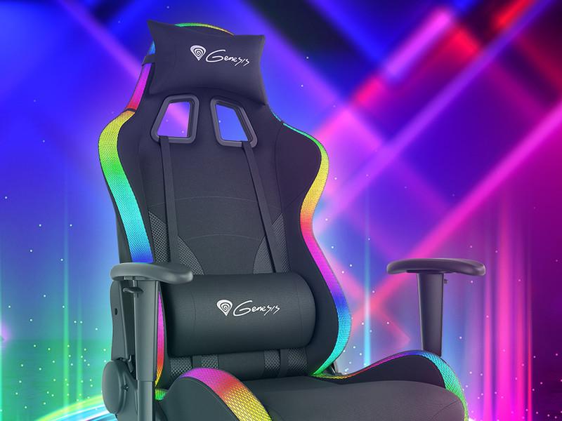 Kaj še odlikuje gaming stol Genesis TRIT 600 RGB?