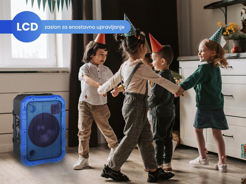Kaj še odlikuje Trevi XF 1300 BEACH Karaoke zvočnik?