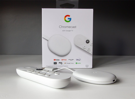 Google multimedijski center Chromecast 4 + Google TV, podpora za 4K/60fps, Android